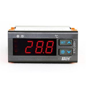 精创温控器ETC-200+密码锁功能制冷化霜带传感器