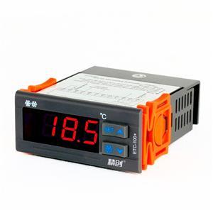 精创温控器ETC-100+温度控制器制冷密码锁功能