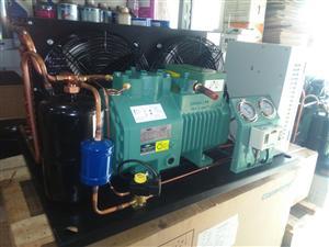 比泽尔制冷压缩机组2EC-3.2/2EES-3Y/3P/3匹冷库制冷保鲜冷冻机组