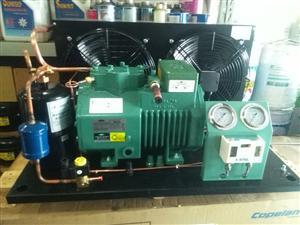 比泽尔制冷压缩机组2FC-3.2/2FES-3Y/3P/3匹冷库制冷保鲜冷冻机组