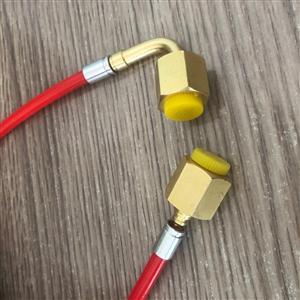 制冷配件 机组软管 铜配件弯头